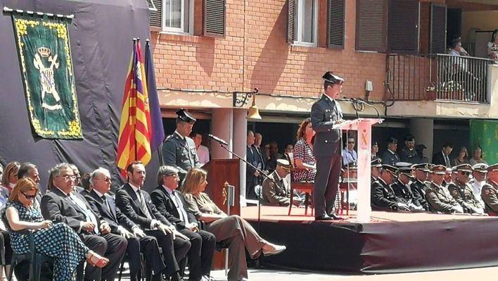 La Guardia Civil celebra en Palma su 175 aniversario: 'El honor es nuestra primera divisa'