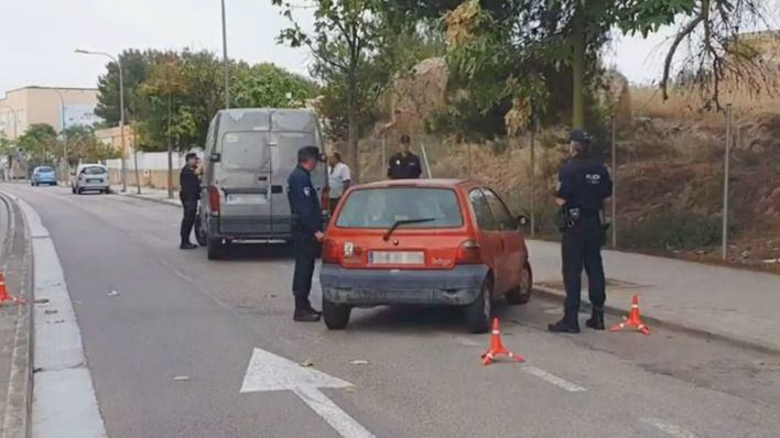 Cuatro denuncias de tráfico y un acta por droga en un control policial en Can Pastilla