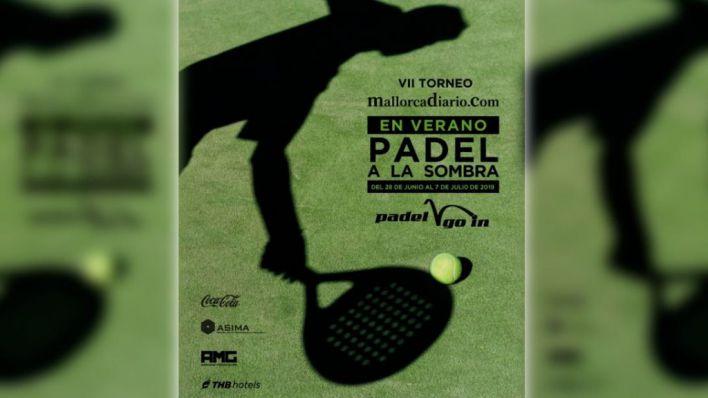 Abiertas las inscripciones del VII Torneo Pádel a la sombra de mallorcadiario.com