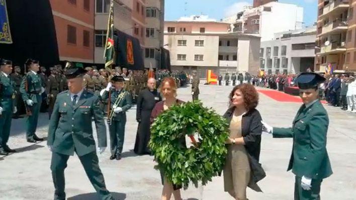 Emotivo homenaje de la Guardia Civil en Palma a los compañeros fallecidos este año