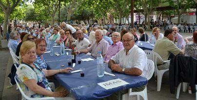 Manacor reúne a 400 personas en la XV Trobada de Gent Gran