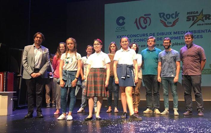 Cope Mallorca entrega los premios de sus concursos medioambientales