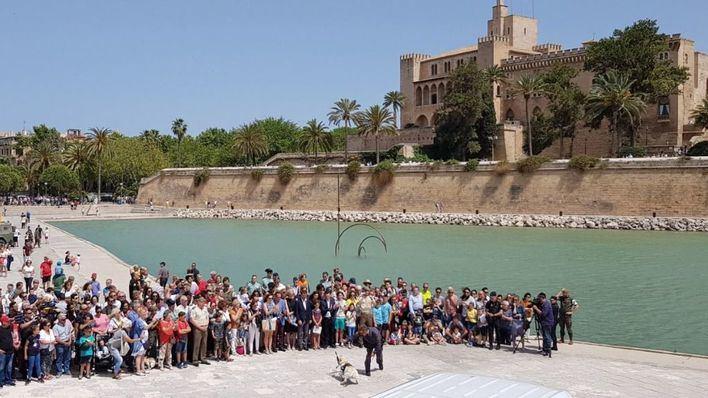 Éxito de asistencia a la exhibición de las Fuerzas Armadas en el Parc de la Mar