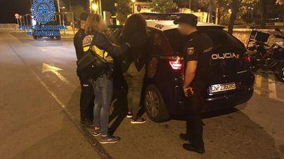 Un total de 18 detenidos en apenas 4 días por diversos delitos en Playa de Palma