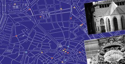 Cort lanza un mapa con tres itinerarios históricos de Palma