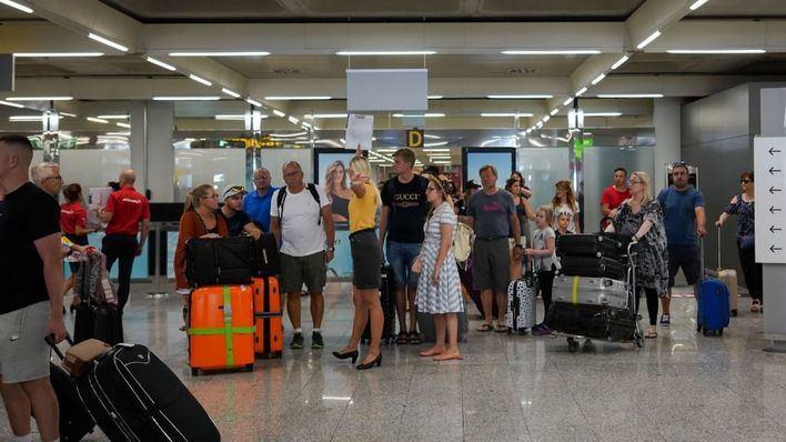 El Aeropuerto de Palma recibe en mayo más de tres millones de pasajeros