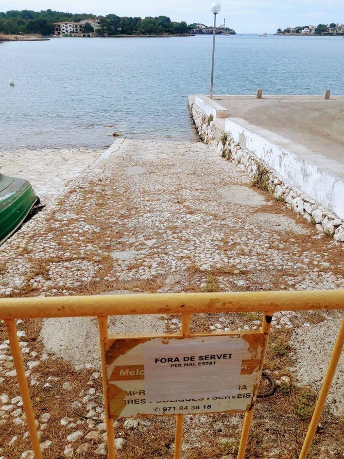Salvem Portocolom pide restaurar el varadero de Sa Capella y recuperar su uso público