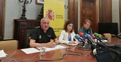 Baleares realiza su mayor refuerzo policial de verano con un 22 por cierto más de agentes