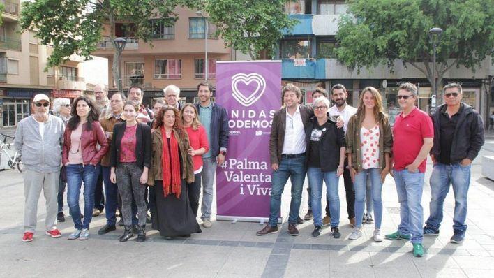 El 87 por ciento de la militancia de Podemos vota a favor de entrar en el gobierno de Cort