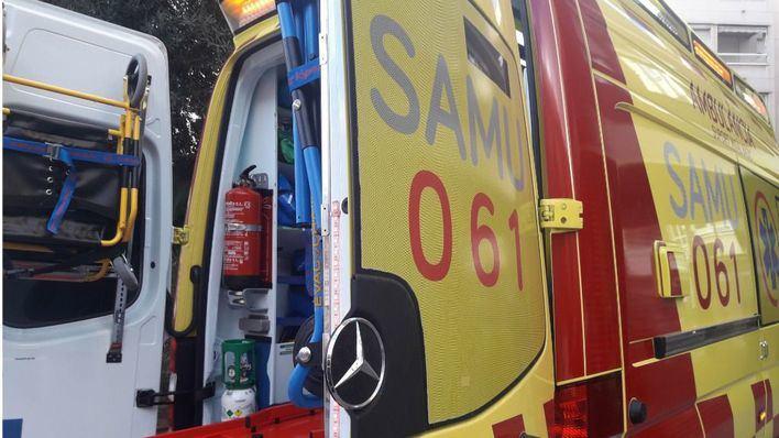 Tres heridos, uno de ellos grave, en un accidente de tráfico en Ibiza