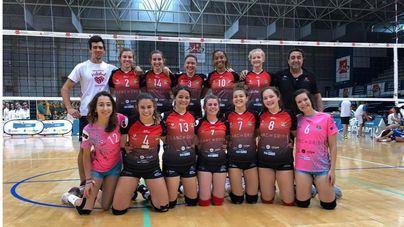 El 'Blanc de Gris' de Manacor, tercero en el Campeonato de España de Voleibol