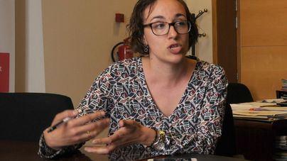 Joana Maria Adrover, responsable de la Policía Local de Palma y Ramón Perpinyà, de Emaya