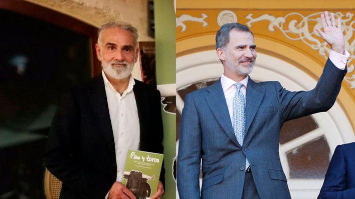 El historiador Juan Ignacio Codina invita al Rey a encabezar la manifestación antitaurina del sábado en Madrid