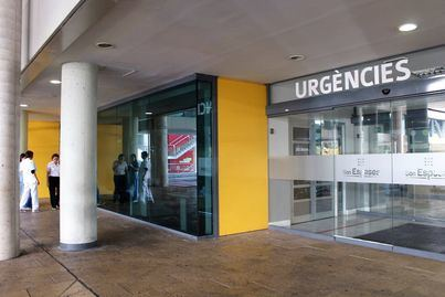 Una menor de 17 años, herida tras caerse desde un primer piso en un hotel de Palmanova