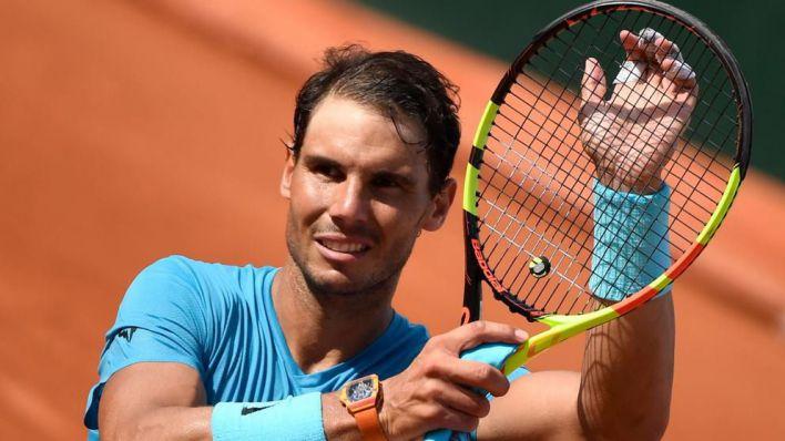 Nadal inicia en la hierba del Mallorca Open su preparación para Wimbledon