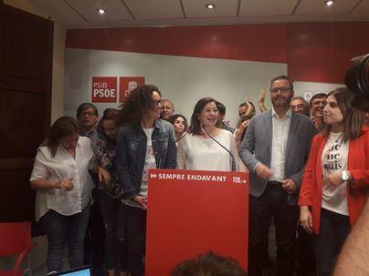 El PSIB afronta gobernar en solitario Baleares sin Més ni Podemos