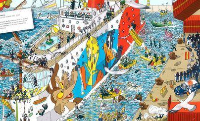 Jupol anuncia acciones legales contra el Govern y la editorial por el cómic 'On és l'estel·la?'