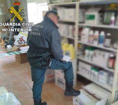 Intervienen 63 toneladas de pesticidas agrícolas perjudiciales para la salud