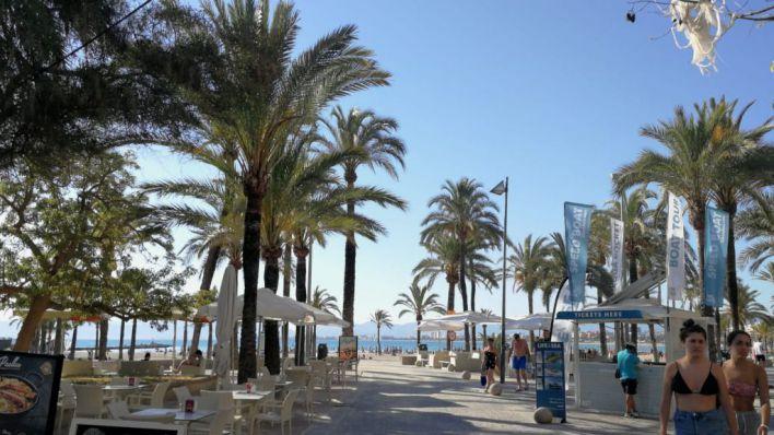 Máximas de 34 grados en Mallorca para despedir la primavera