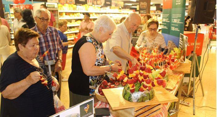 Eroski vende en Baleares 17,5 millones de euros en frutas y hortalizas de las islas