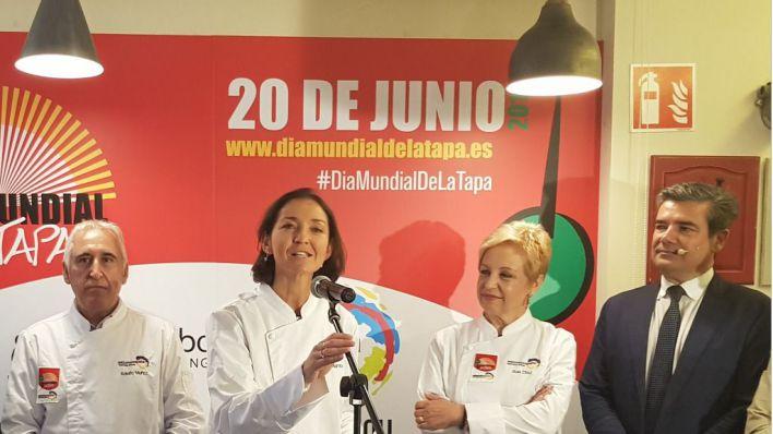 Maroto defiende que 'la tapa es marca España y eso hay que potenciarlo'