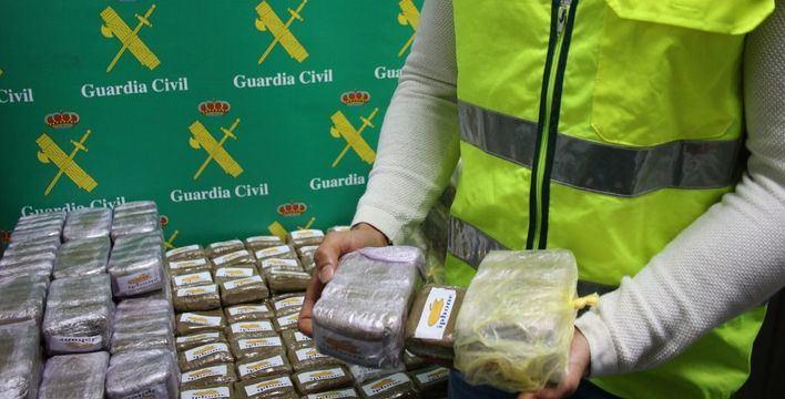 Detenido en el Puerto de Palma con 57 kilos de 'polen de hachís'