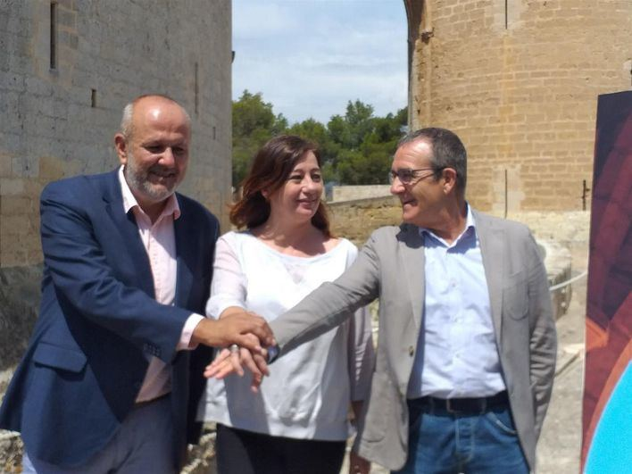 El acuerdo entre el PSIB, Més y Podemos prevé impulsar más de una veintena de leyes