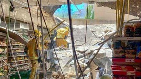 Varios heridos en un derrumbe en un supermercado en Palma