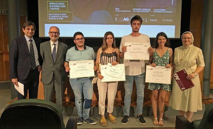 El Cesag entrega sus galardones para 'concienciar' a futuros periodistas sobre temas sociales