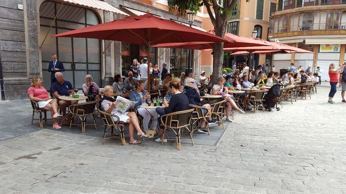 Palma es la capital turística más cara para tomarse un café