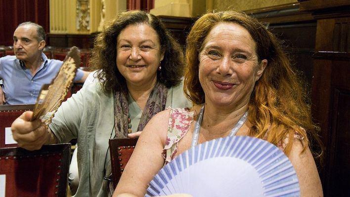 Mae de la Concha alaba el discurso de Armengol: 'Creo que haremos un gran equipo'