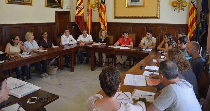 Santanyí reduce el gasto en sueldos de concejales