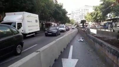 Palma suma un nuevo punto negro de colapso por las obras en Avenidas