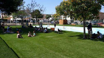 Calvià estrena el Splashpark, un parque de chorros de agua