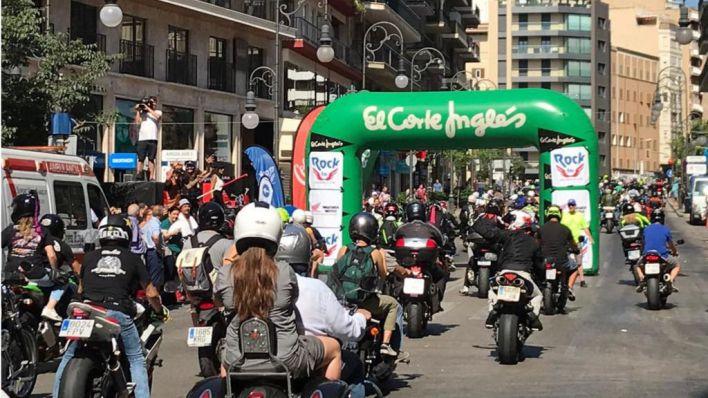 Más de 2.000 motos copan Jaime III para participar en la Moto Rock 2019
