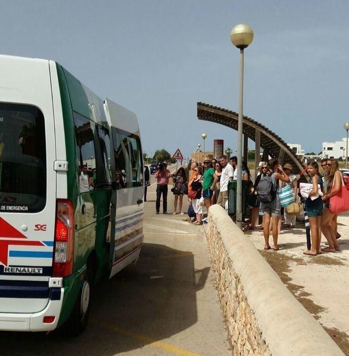 Vuelve el bus lanzadera a Es Trenc