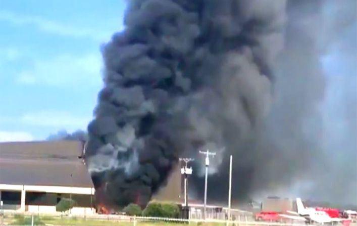 10 muertos en un accidente aéreo en Texas