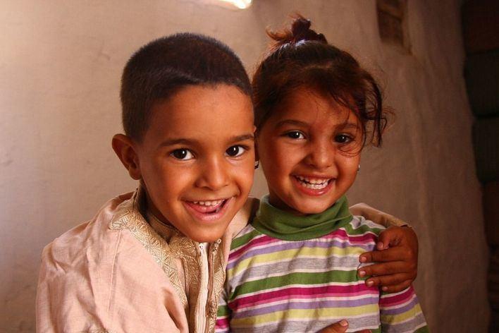 Familias de Baleares acogen a 90 niños refugiados saharauis