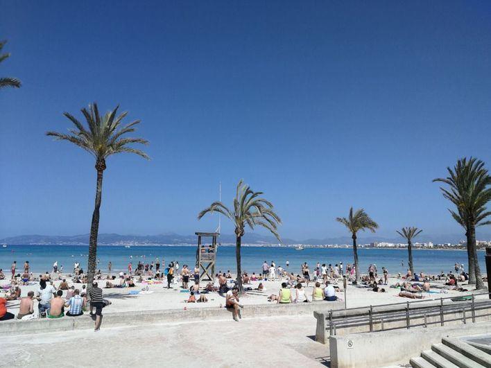 Cielo despejado y temperaturas con pocos cambios en Baleares