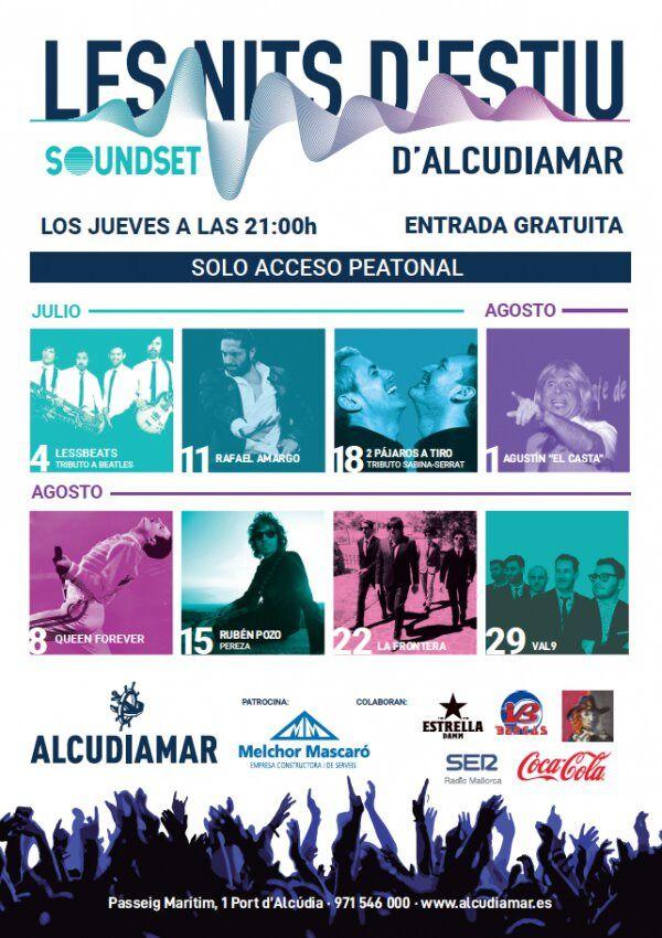 Llegan 'Les nits d'estiu d'Alcudiamar' con la actuación de LessBeats