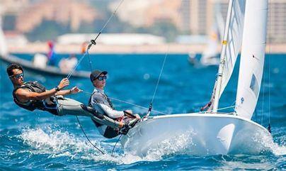 Tres regatistas del Club Nàutic S'Arenal participan en el Mundial de 420 en Portugal