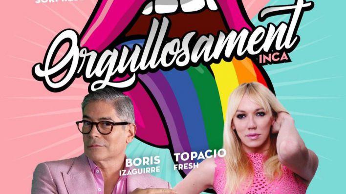 Inca acogerá el 19 de julio el cuarto festival LGTBI con Boris Izaguirre y Topacio Fresh