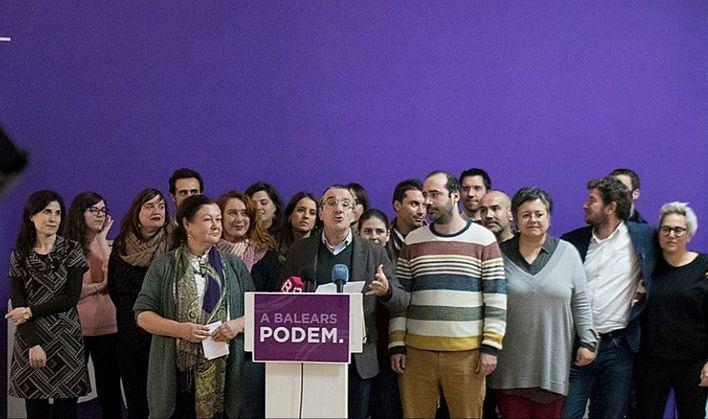 Podemos abre una consulta para decidir si entra en los Consells de Mallorca y Menorca