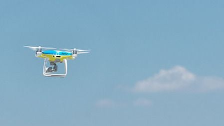 Drones para vigilar las carreteras de la Serra