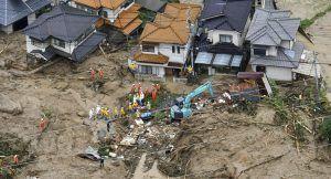 Ya son más de un millón las personas evacuadas por las fuertes lluvias en el sur de Japón