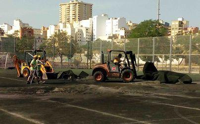 El Parc de Sa Riera mejora sus instalaciones deportivas