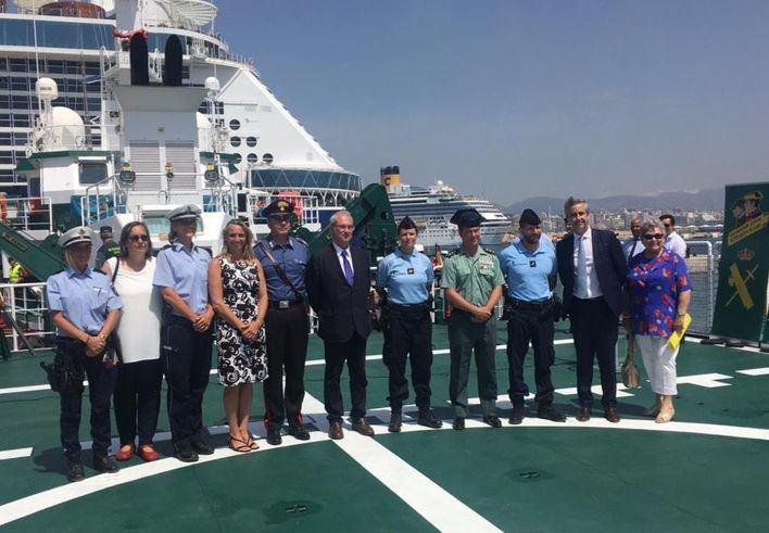 Policías europeos llegan a Mallorca para reforzar la seguridad este verano