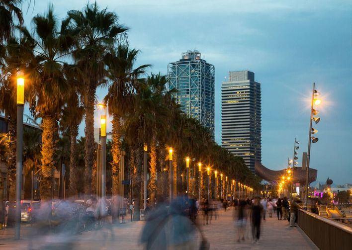 Presunta violación en una playa de Barcelona