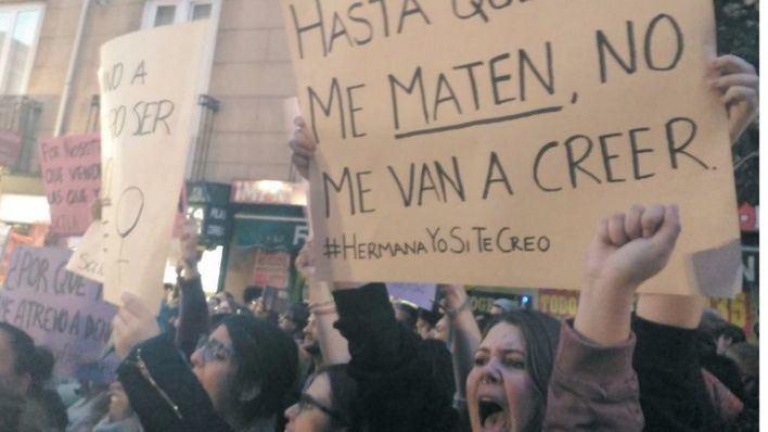 Concentraciones en Palma y Manacor contra las 'Manadas' de Manresa y Cala Rajada