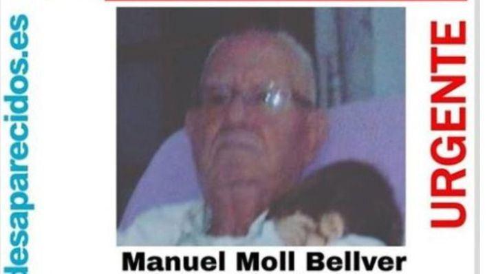 Piden ayuda para localizar a un hombre de 84 años desaparecido en Palma